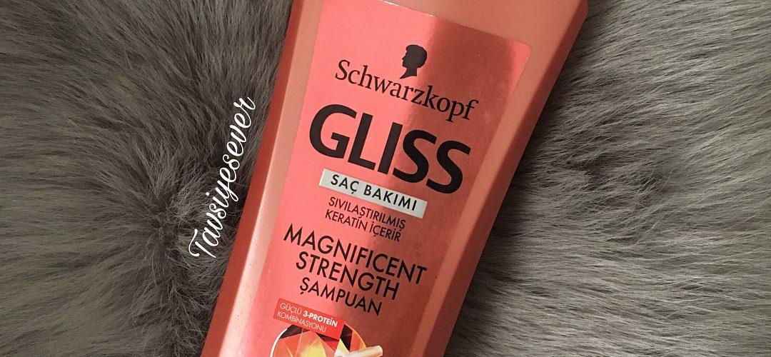 schwarzkopf gliss magnificent strength şampuan