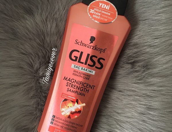 schwarzkopf gliss magnificent strength şampuan