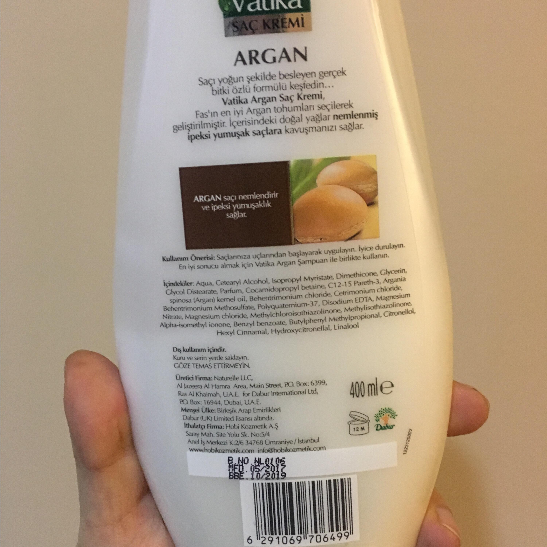 Vatika Argan Saç Kremi