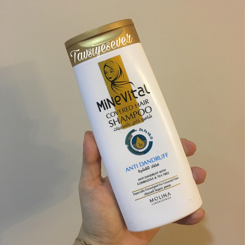 Minevital Kapalı Saçlar İçin Kepeğe Karşı Şampuan